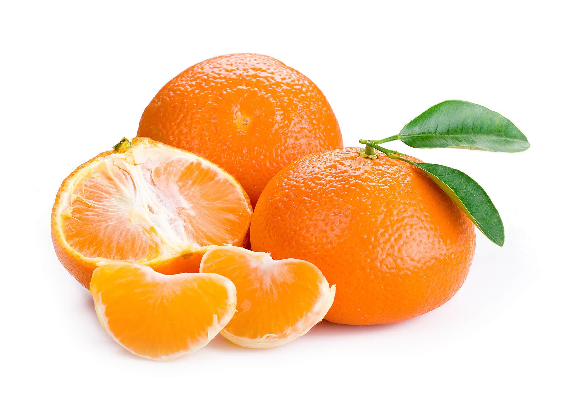 Mandarinen cutout