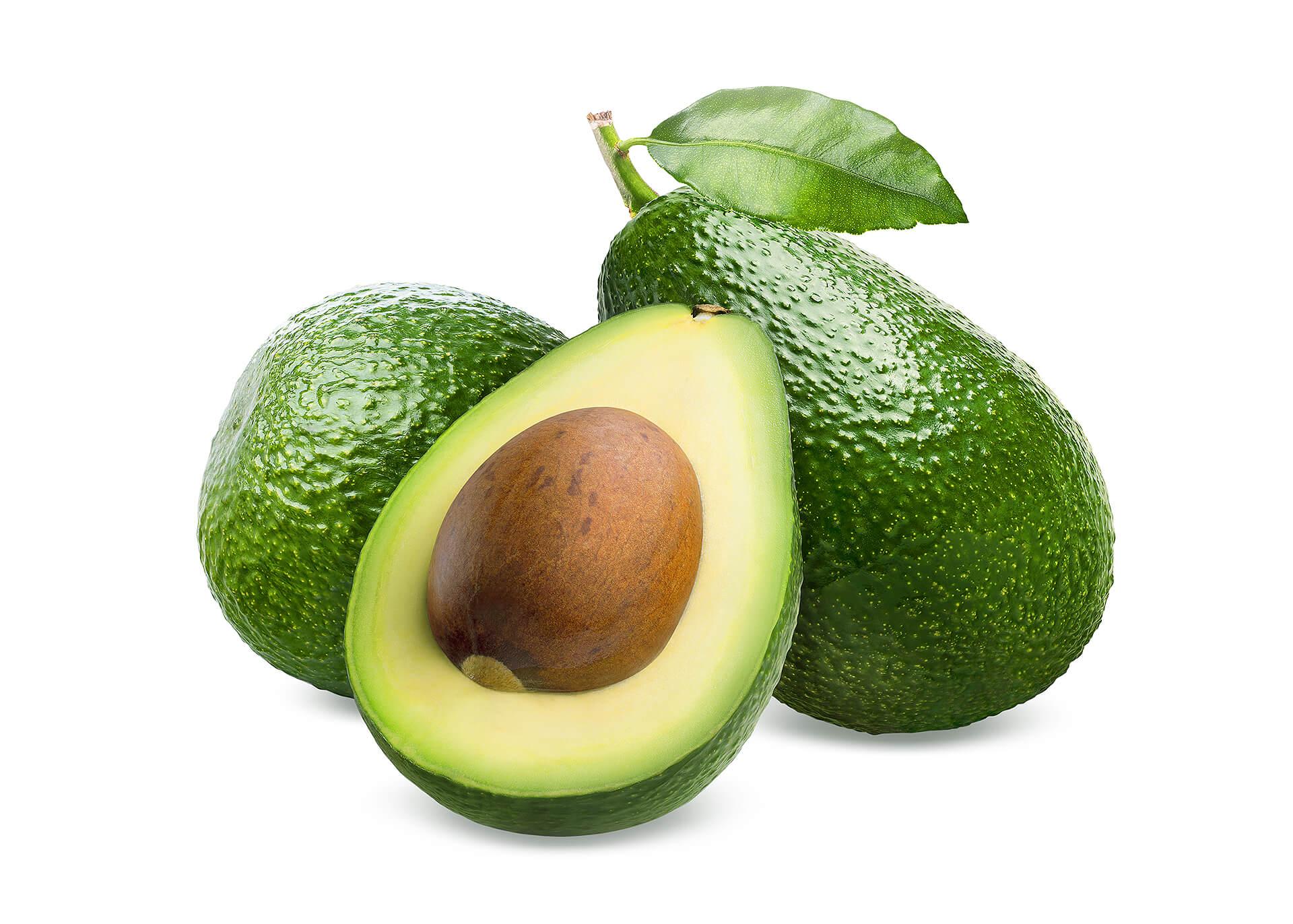 Avocado cutout