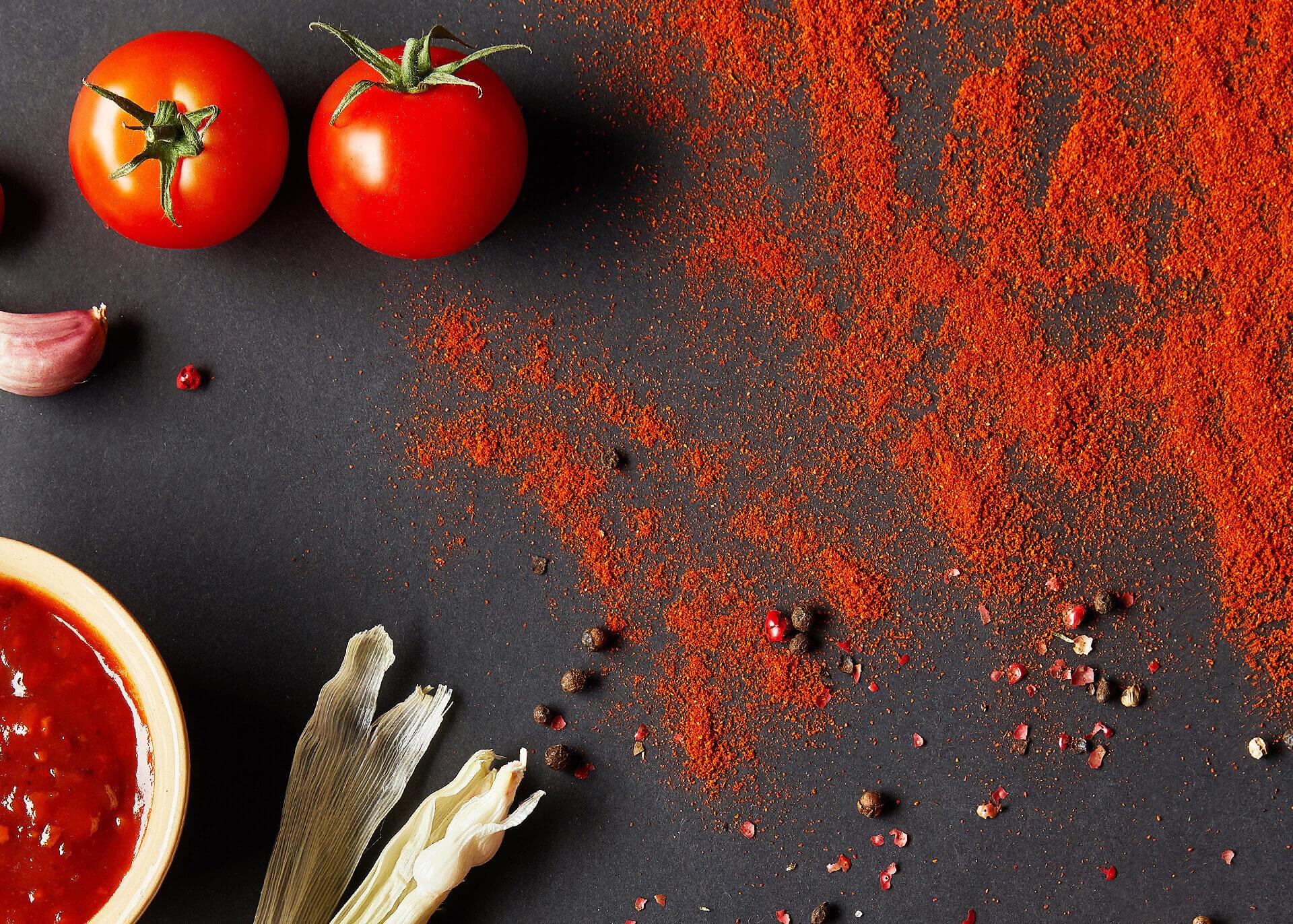 Tomatenpulver Einleitung