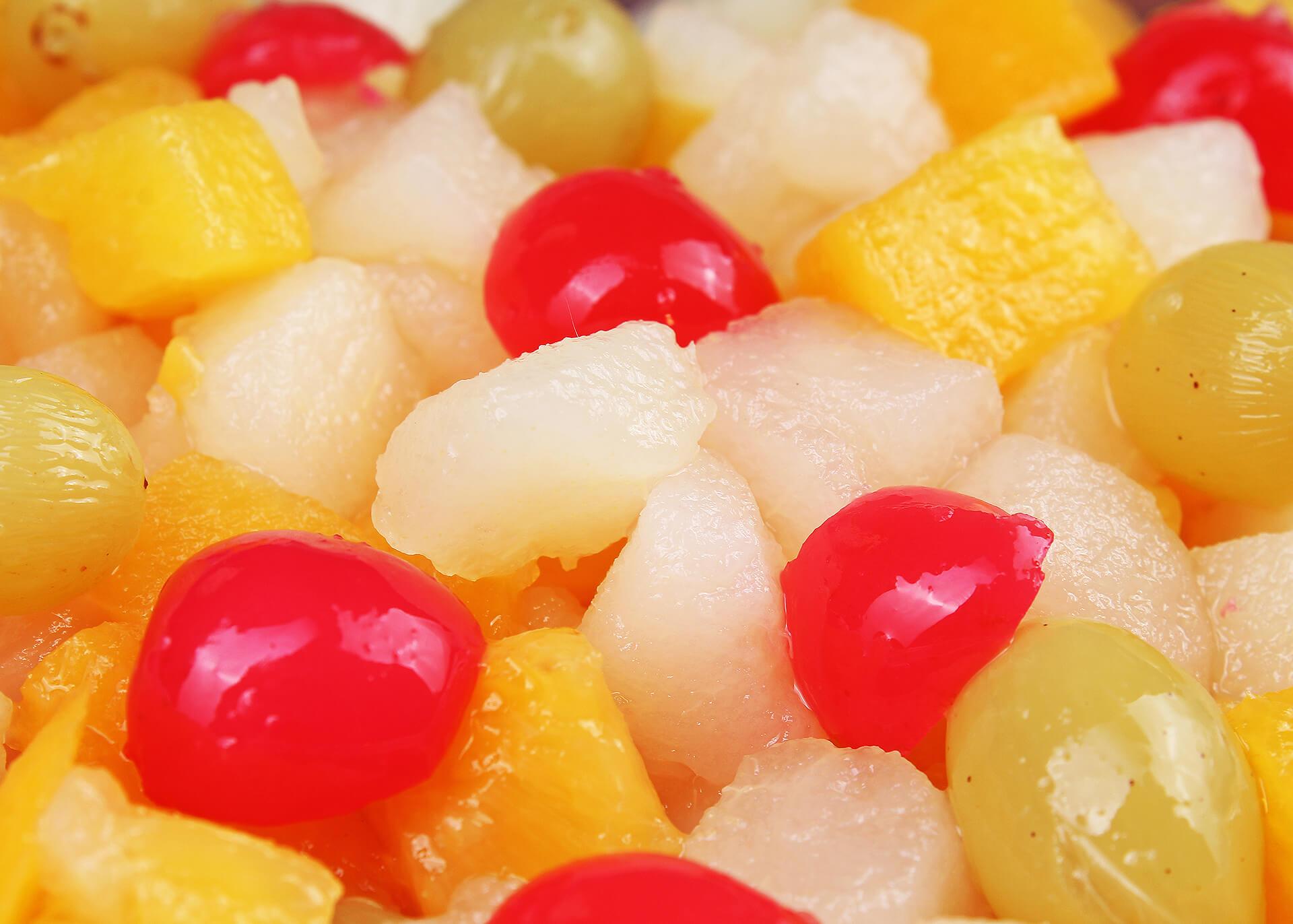 Fruchtcoctail Produktion