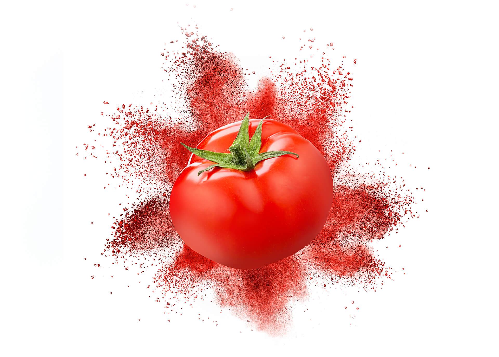 Tomatenpulver cutout