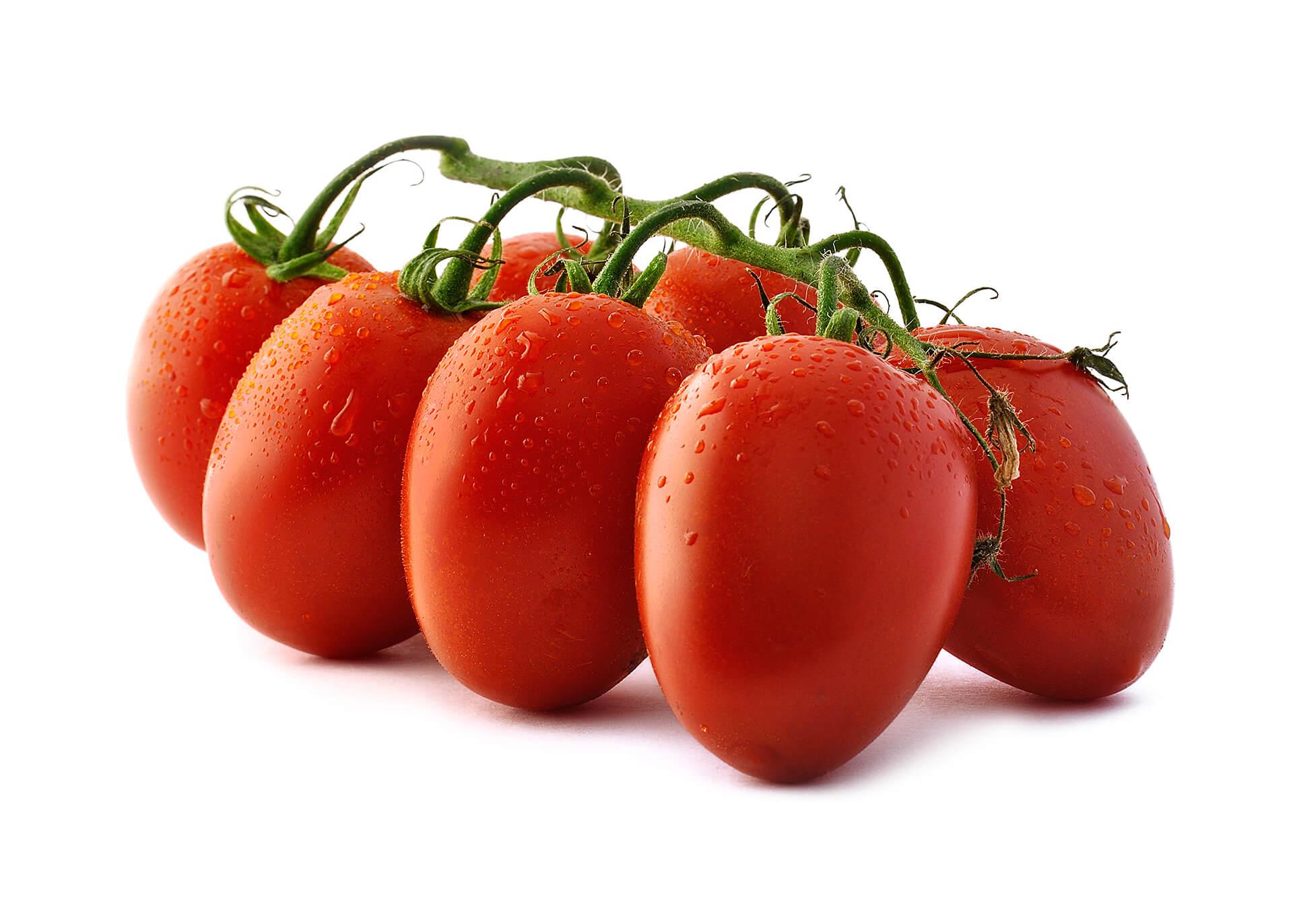 Tomatenstücke cutout