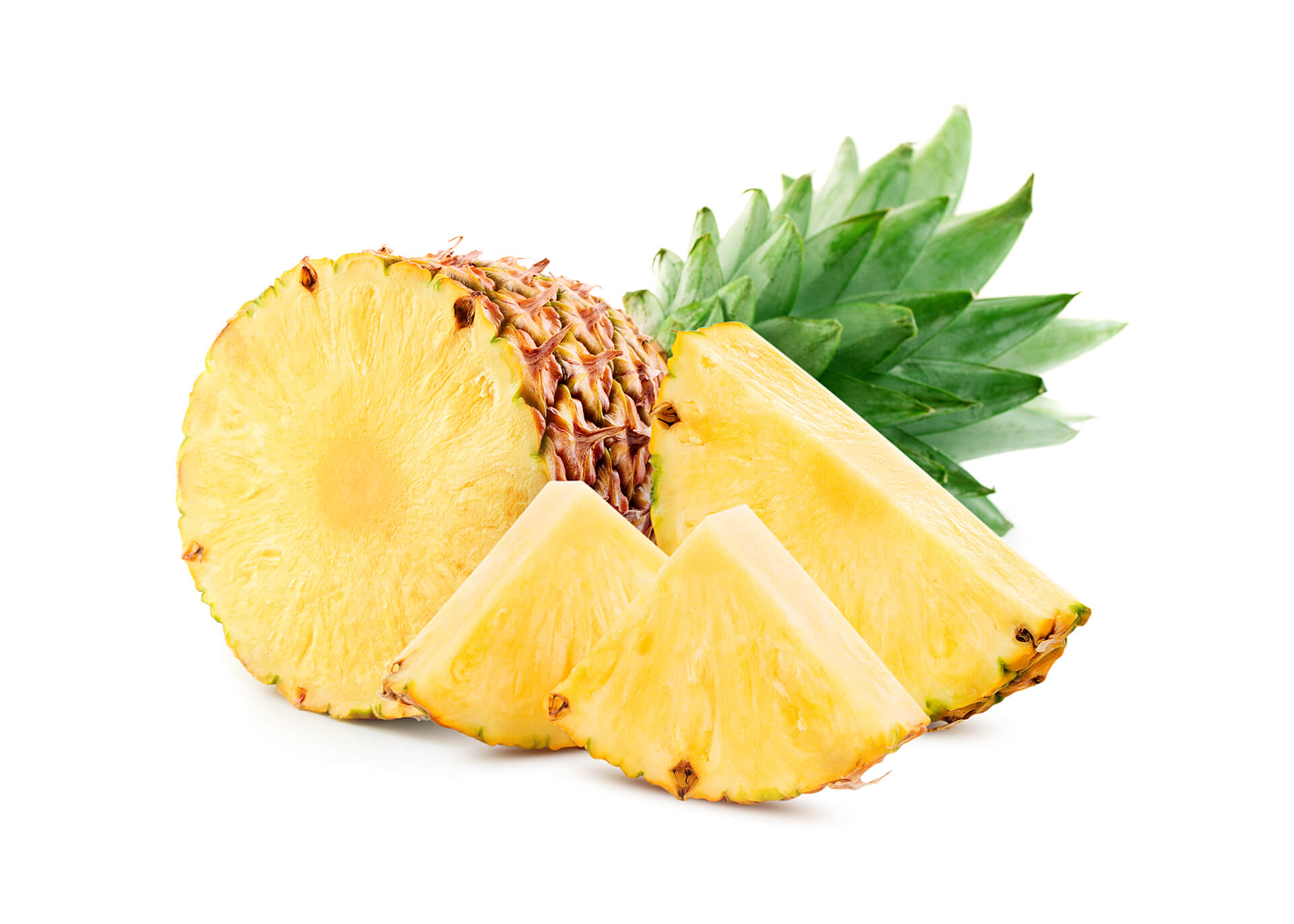 Ananas cutout