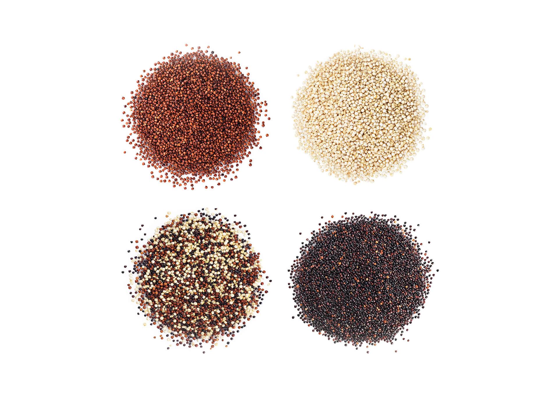 Quinoa cutout